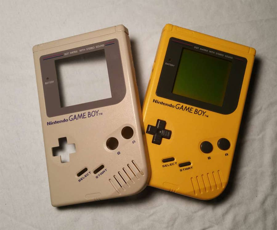 How to replace an original Game Boy shell