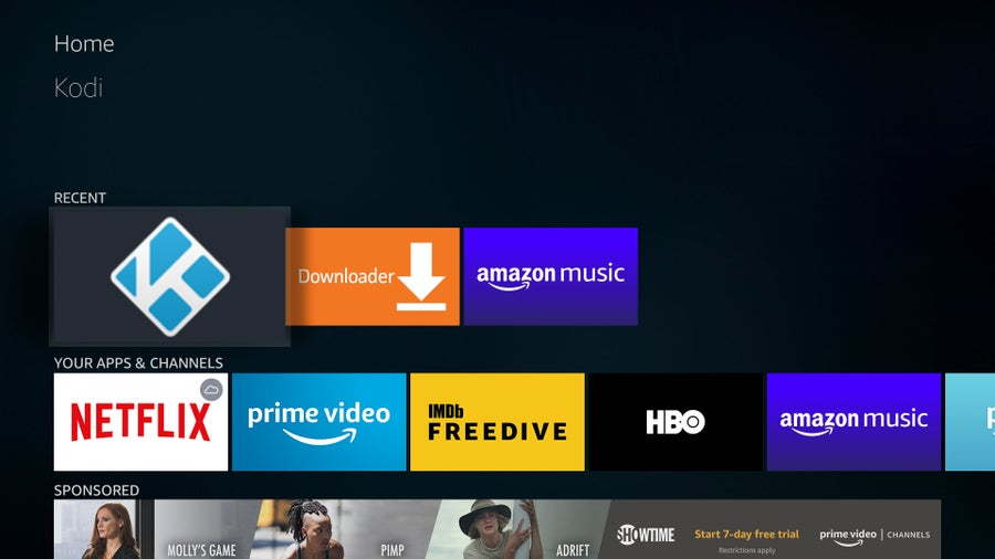Kodi on Fire TV Stick