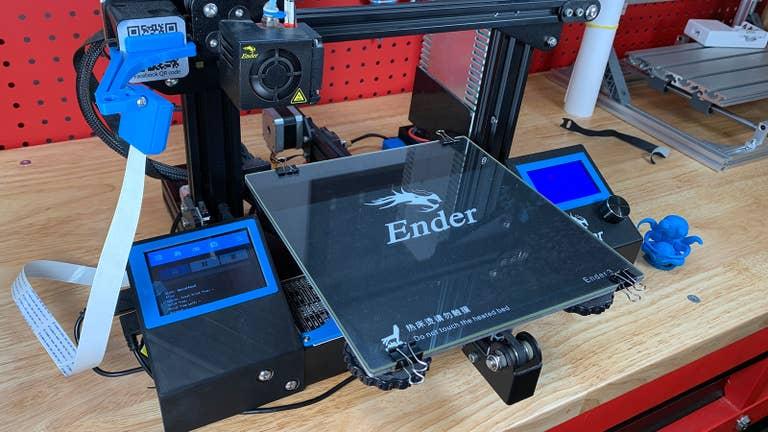 Ender 3 OctoPrint touchscreen