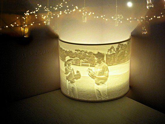 Customized 3D Printed Lamp