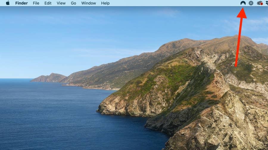 VPN icon on Mac