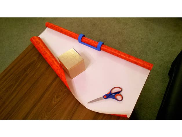 Wrapping Paper Holder and Dispenser