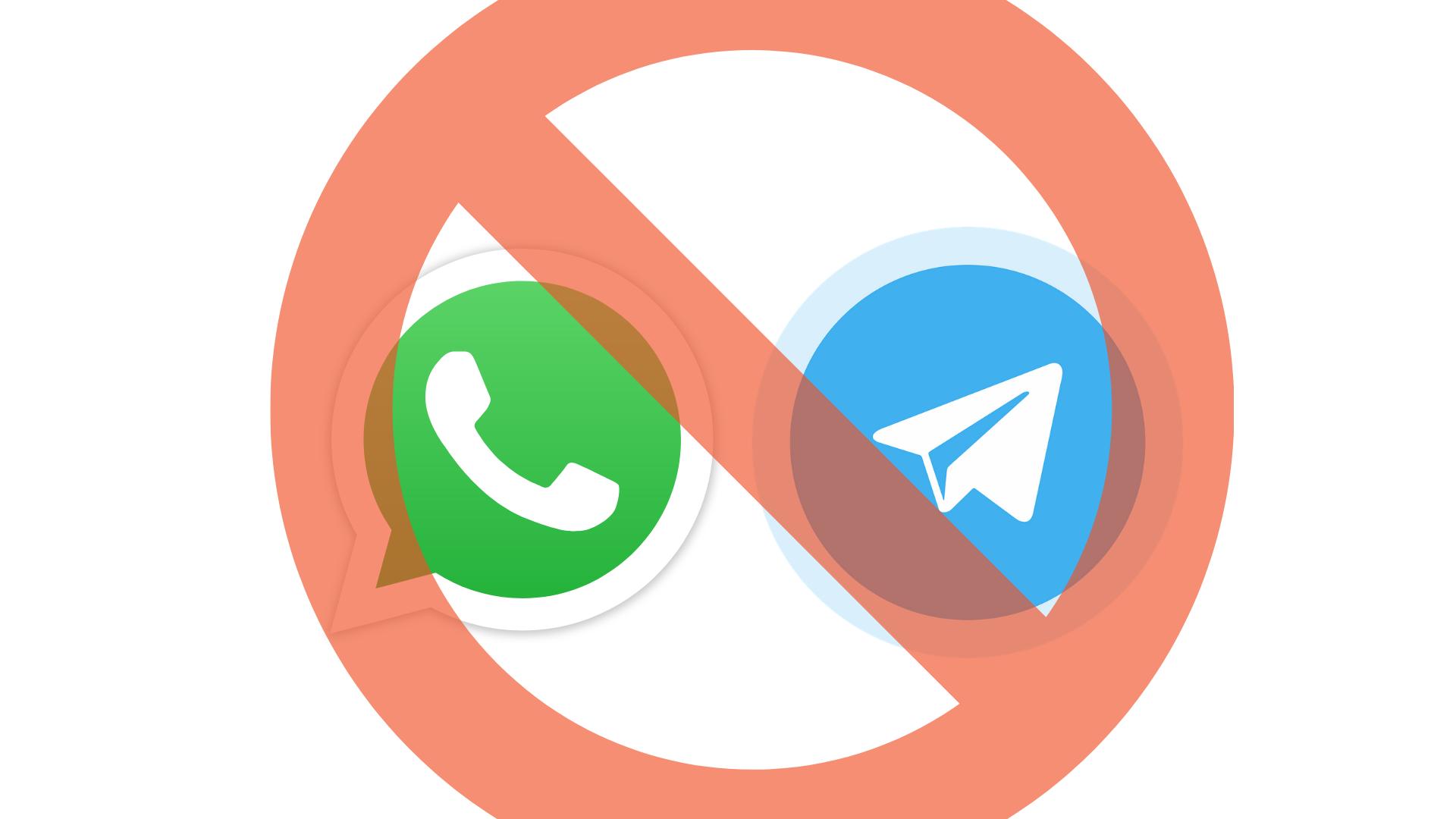 Cancel WhatsApp and Telegram