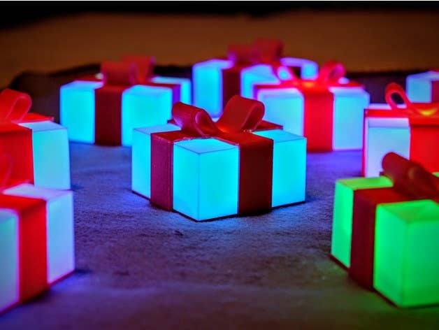 Glowing Presents