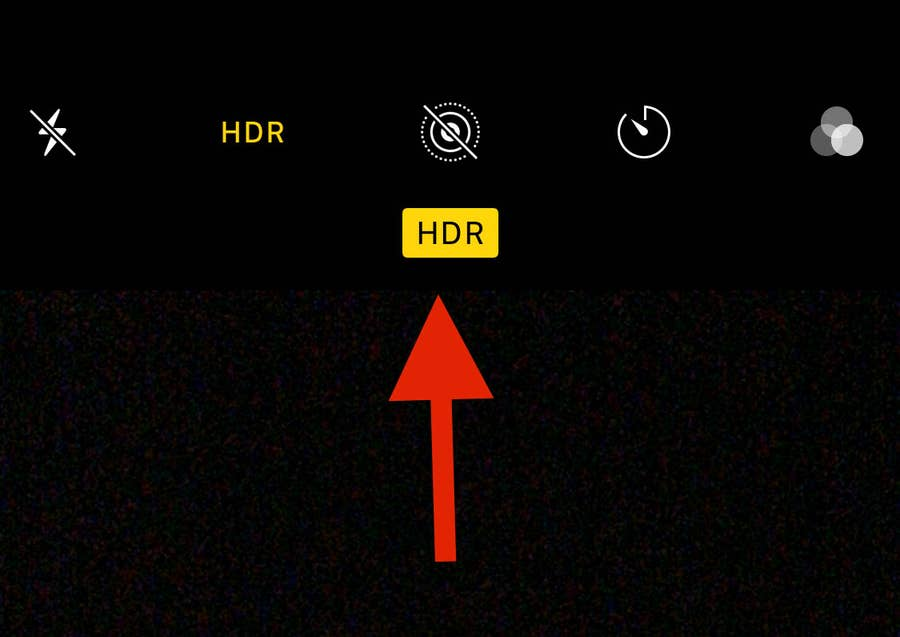 Arrow to HDR