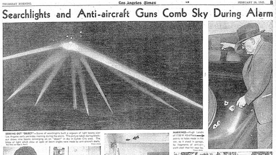 The Great Los Angeles Air Raid