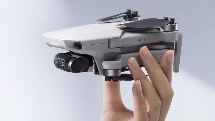 DJI Mini 2 portable consumer drone!
