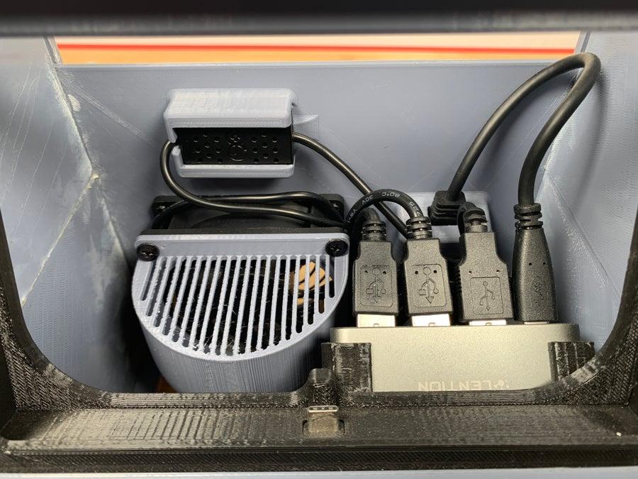 Nintendo Switch arcade cabinet electronics