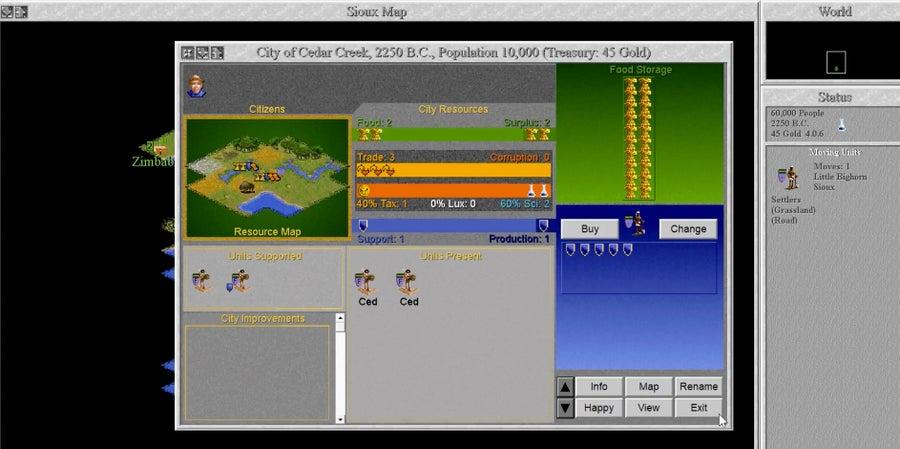 Civ 2 Gameplay