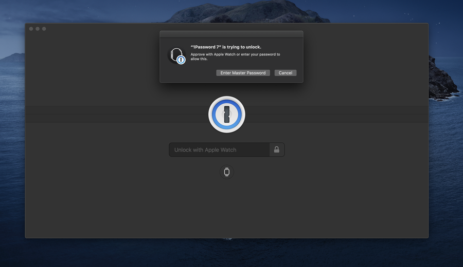 Unlock 1Password with Your Apple Watch