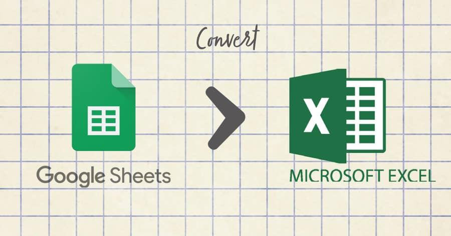 Convert Google Sheet to Excel