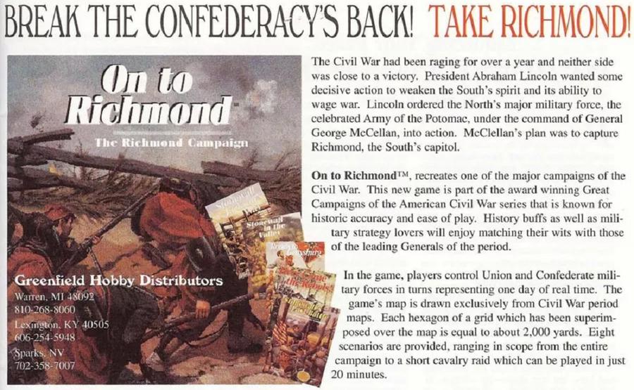On to Richmond! (1998)