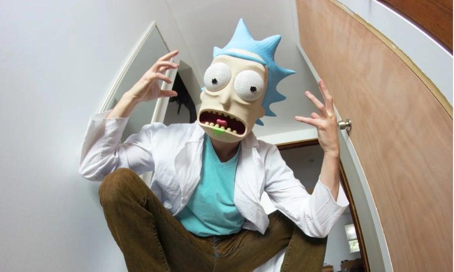 Rick Sanchez 3D printed mask
