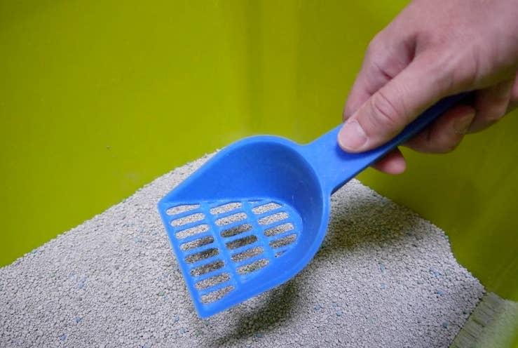 3D printed cat litter scooper