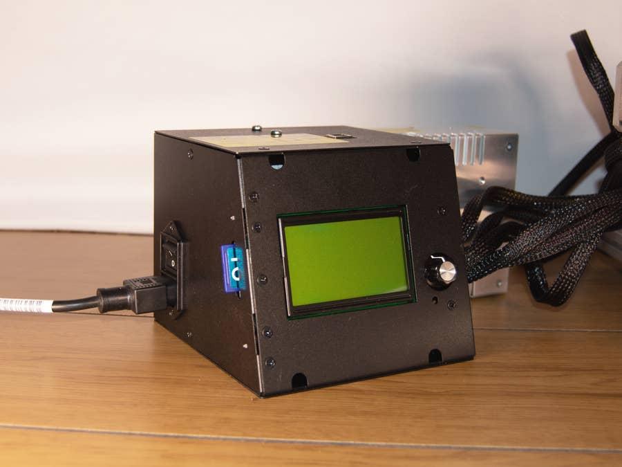 CZ-300 LCD Screen Interface