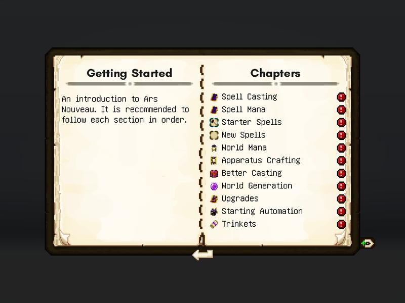 ars nouveau magic forge mod minecraft