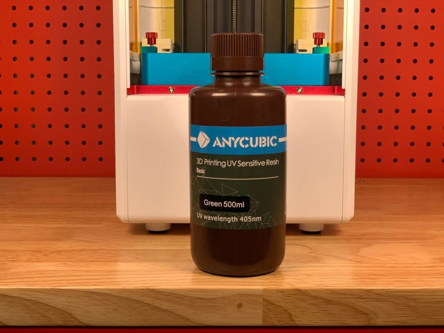 Anycubic Photon S resin