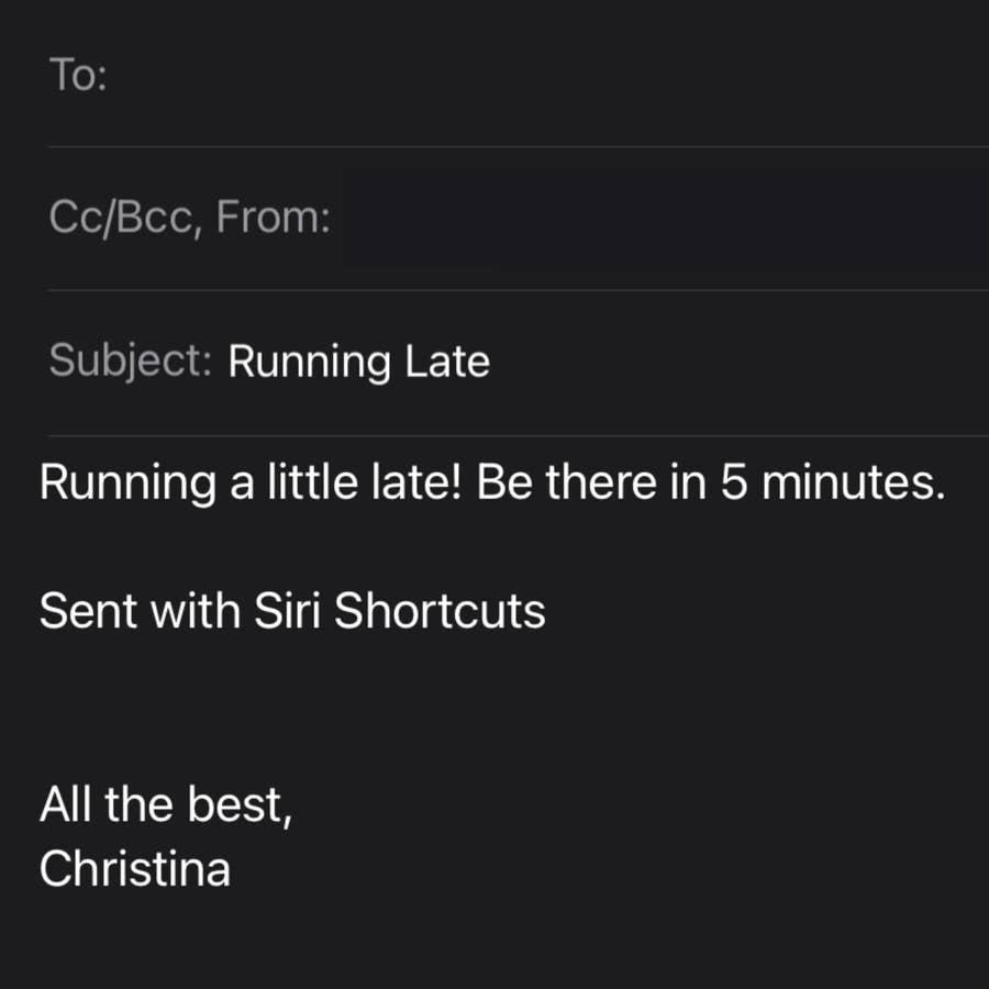 Use a Shortcut