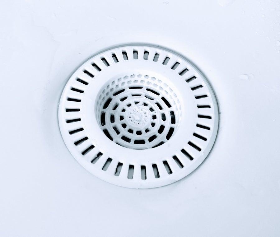 3D-printed kitchen sink drain strainer