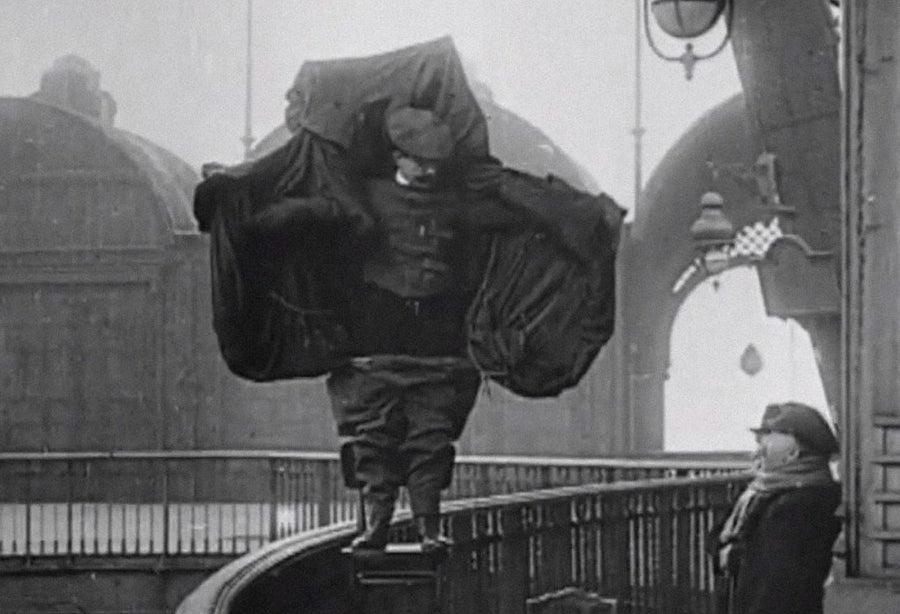 Parachute jacket invention