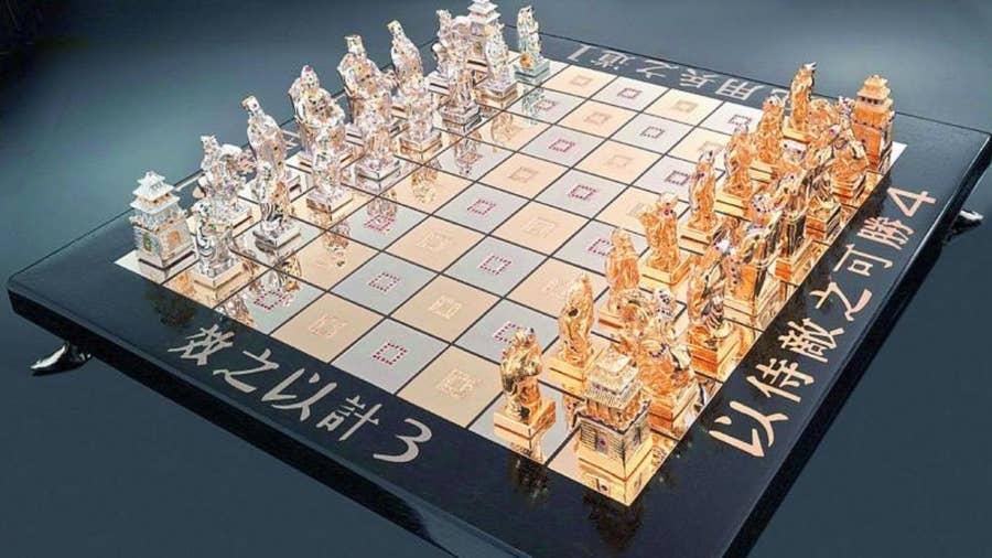 Art of War Chess Set – $50,000