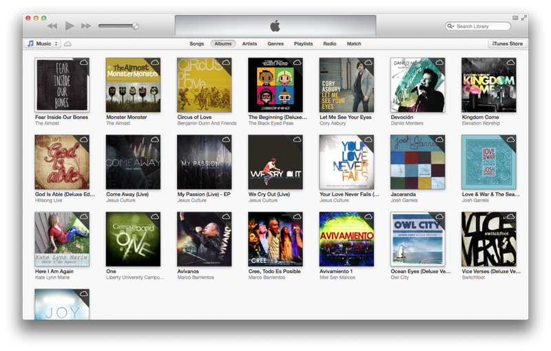 How to create a new iTunes library folder