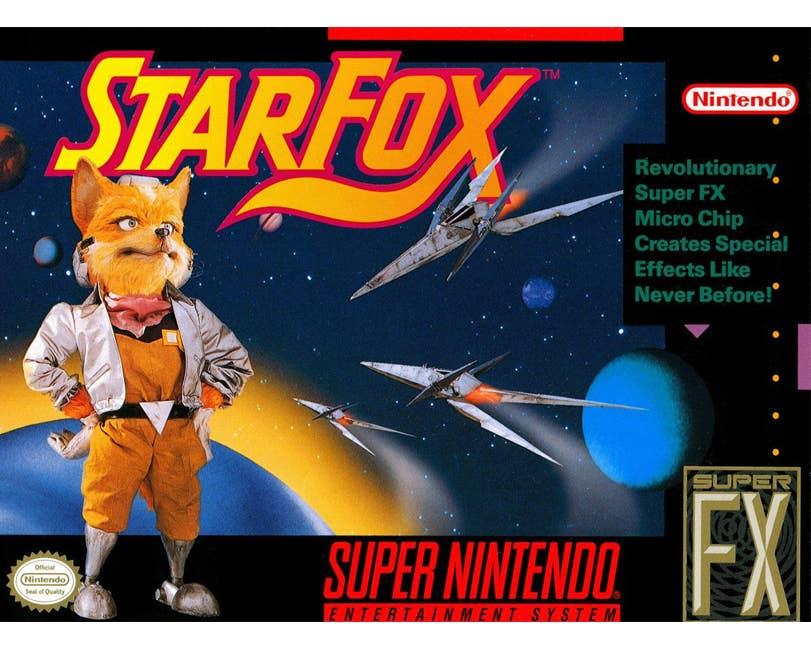 Star Fox: Super Weekend Cartridge