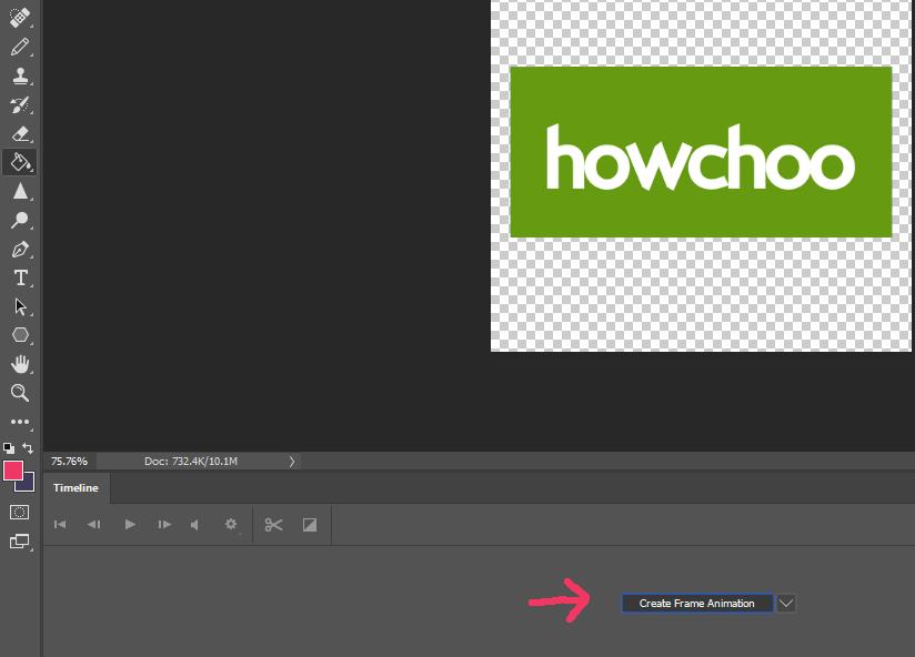 Create Frame Animation Photoshop