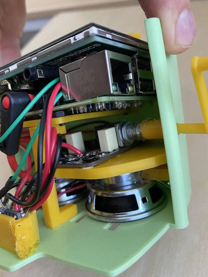 Futurama What-If Machine Raspberry Pi Interior