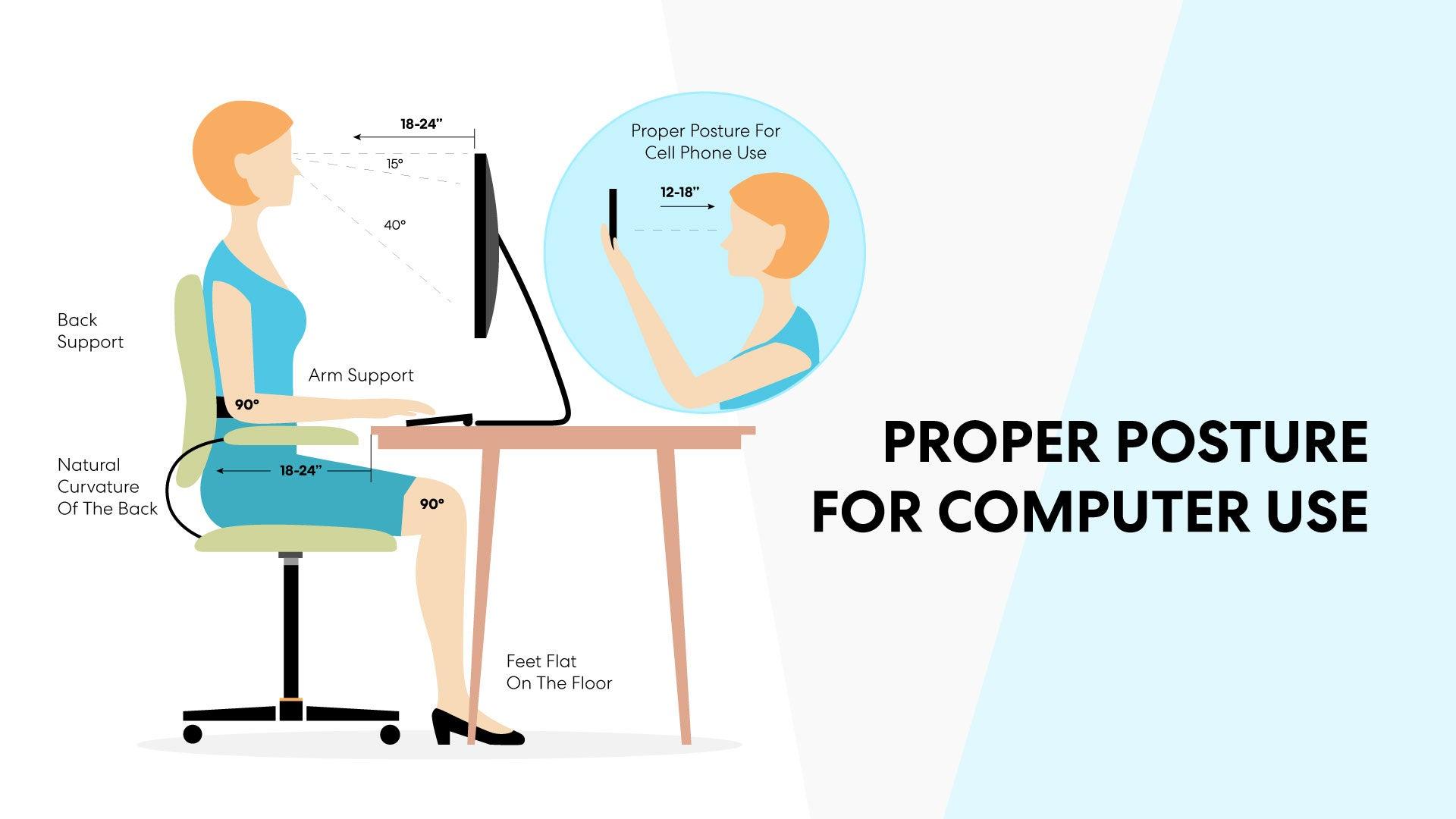 Proper Posture for Computer Use