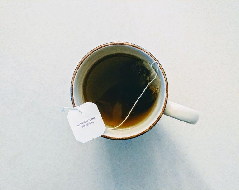 A cup o' tea.