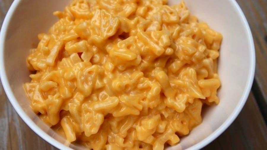 Boxed Mac and Cheese Hack