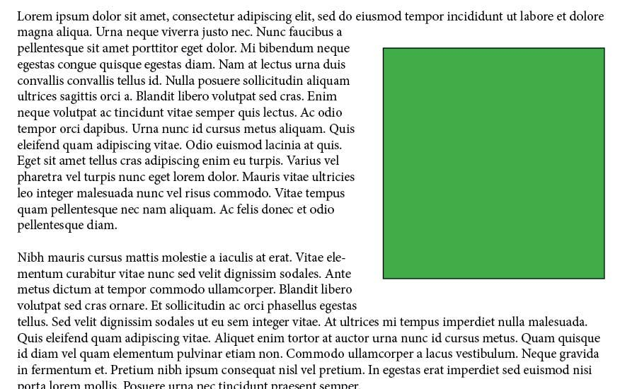 How To Wrap Text in InDesign