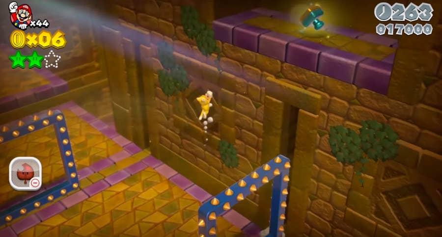 Super Mario 3D gameplay still