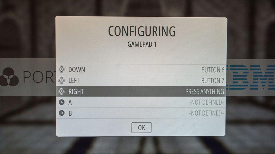 RetroPie Z-index controller config