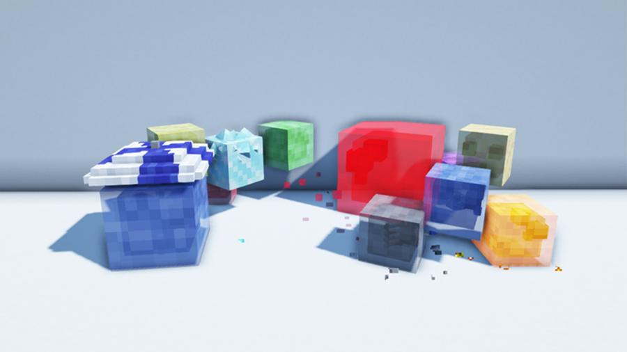 terrarian slimes mod minecraft mob entity fabric