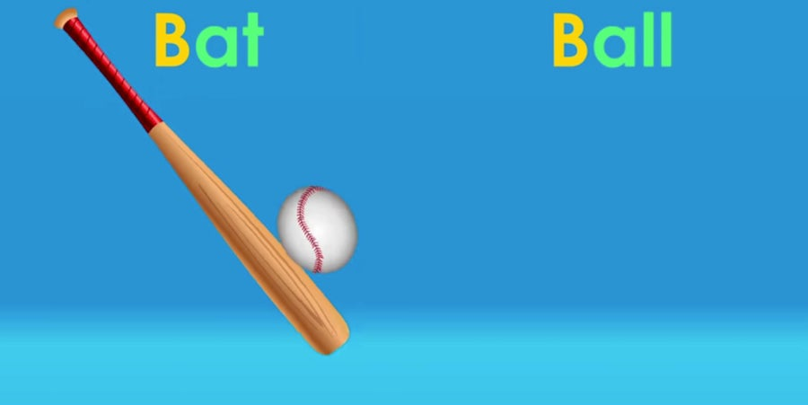 Bat and Ball video still