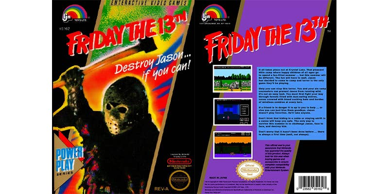 friday the 13th nes