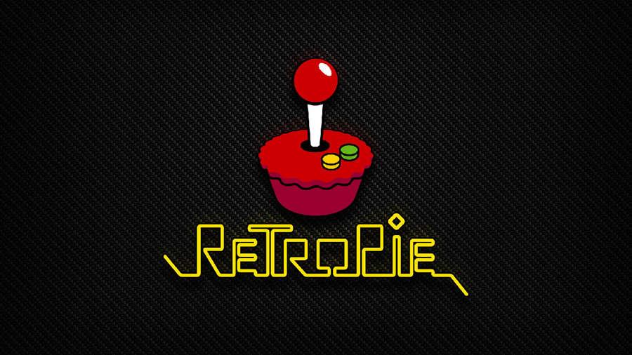 Default RetroPie splash screen
