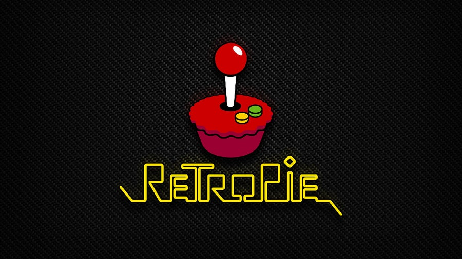 Default RetroPie splash screen