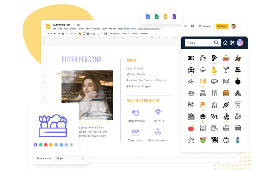 flaticon free icons google workspace addon