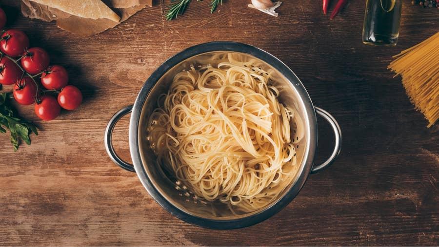 One pot pasta.