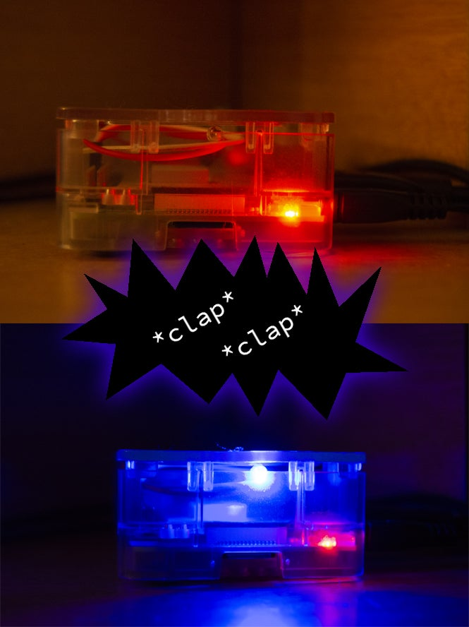 Raspberry Pi Clapper LED colors
