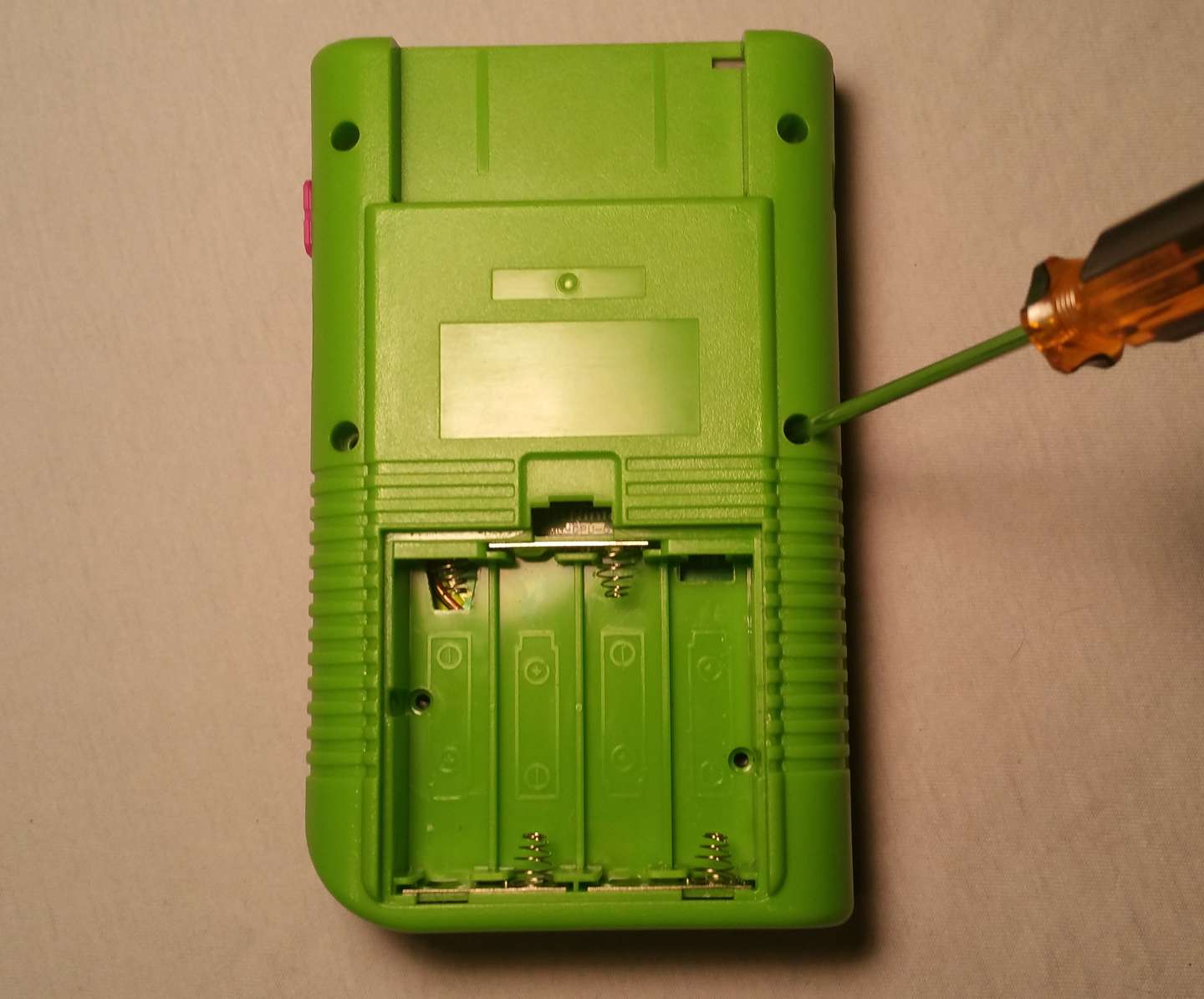 Seal the Game Boy together