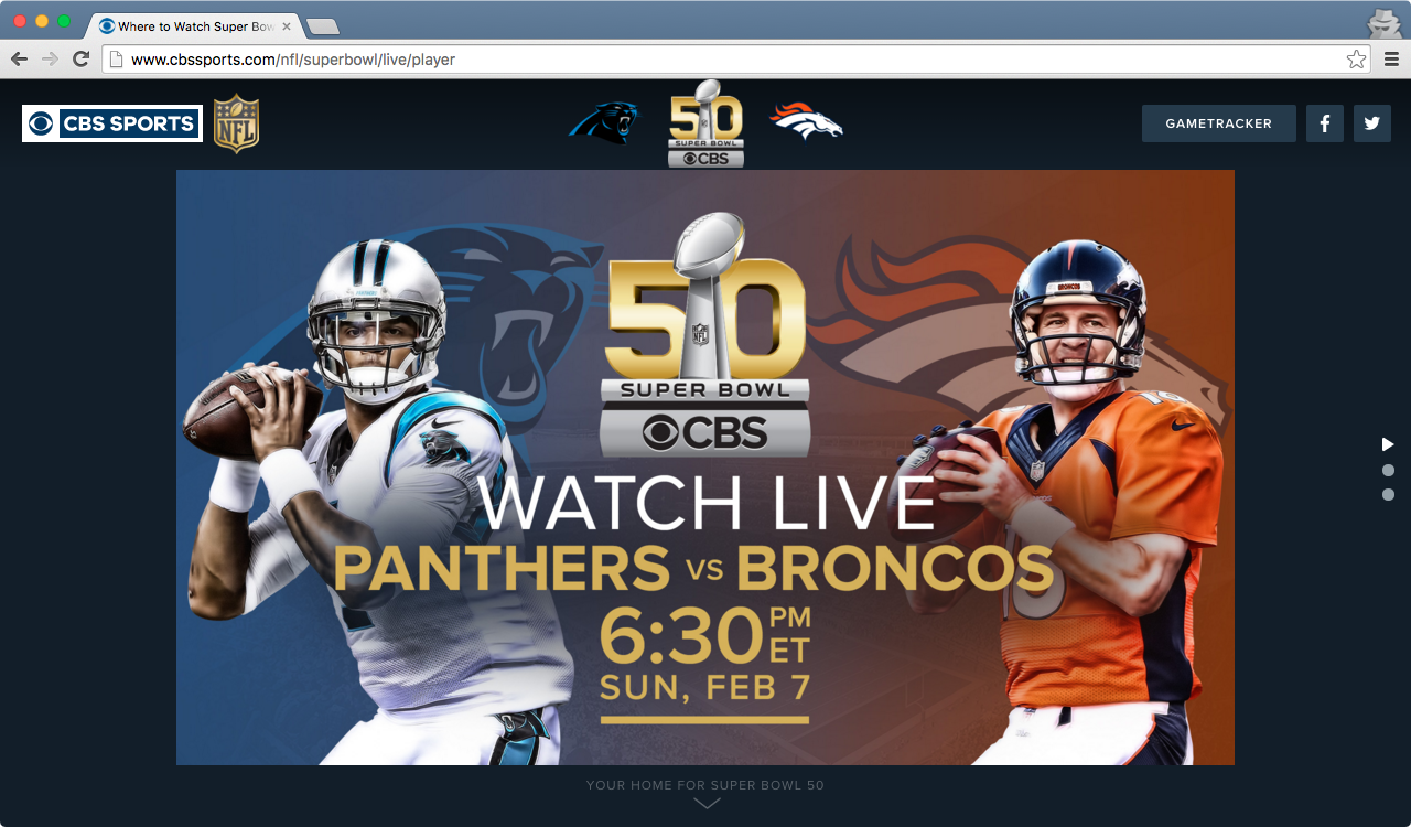 How to watch the Super Bowl online for free