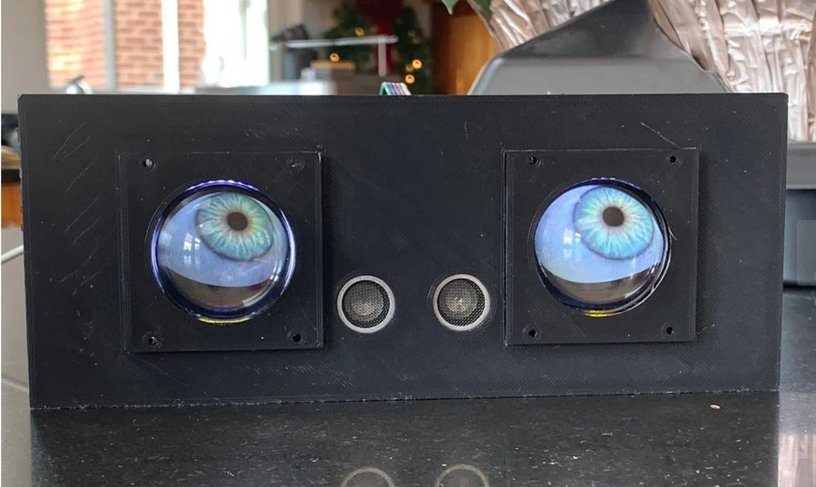Case for Adafruit Animated Eyes Bonnet