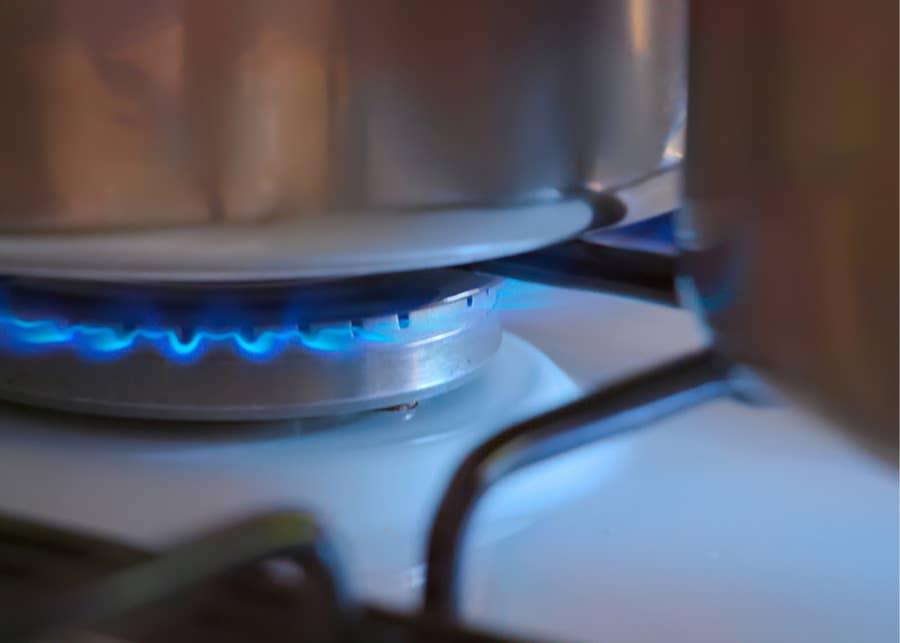 Simmering pot.