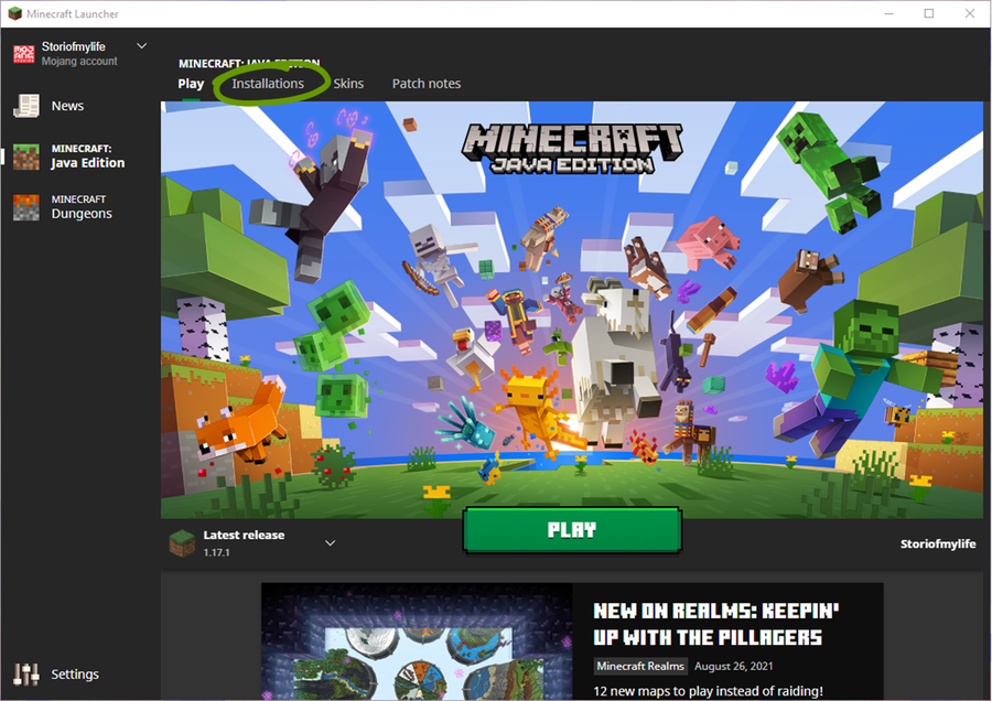 find file path minecraft launcher shaders