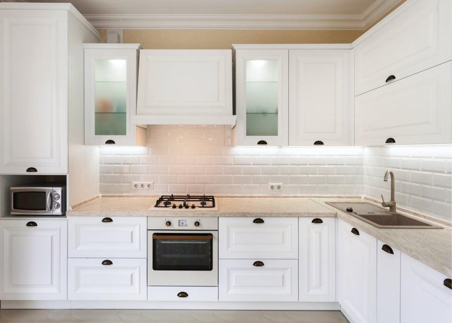 Kitchen lighting.