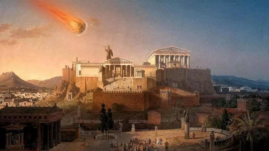 A Meteor Strikes A Roman Battlefield